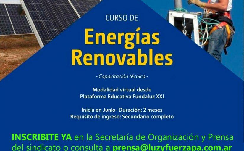 Capacitación en Energías Renovables